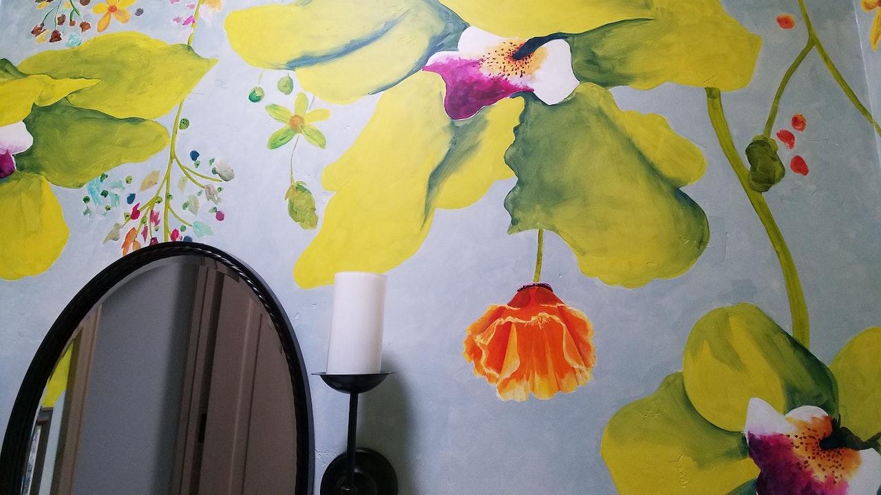Fantasy Orchids Half-Bath
