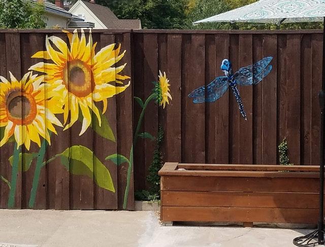 poolside sunflowers addendum