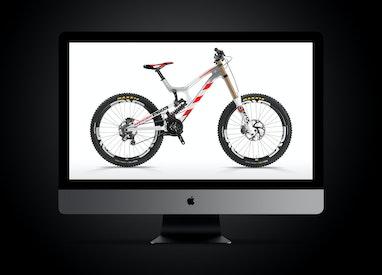 Bike graphics evolution ≥