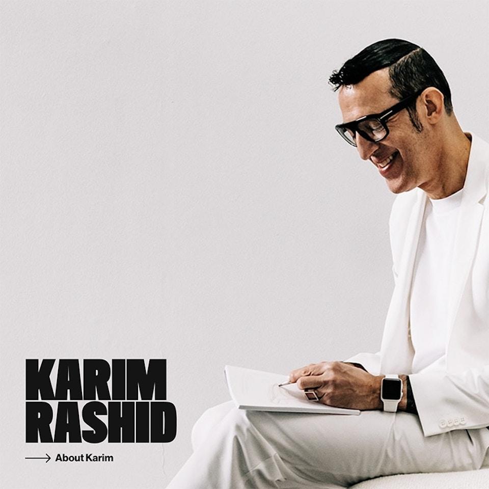 Karim Rashid website v2 ≥