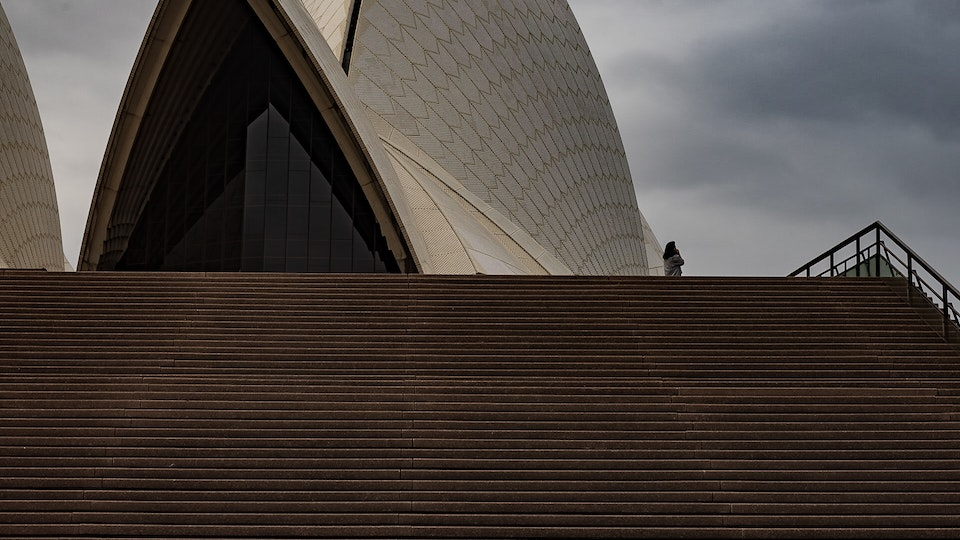 Monoliths, Turkshead Gallery 2020 - The first day of lockdown and only one tourist