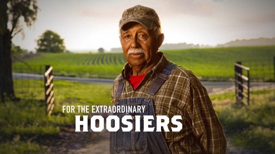 """Indiana State Fair 2019 Heroes Campaign ISF 2019 - """"Farmer Hero"""""""