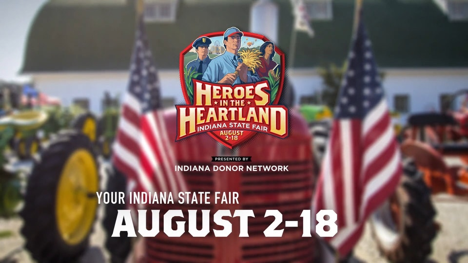 """Indiana State Fair 2019 Heroes Campaign ISF 2019 - """"Fair Heroes"""""""