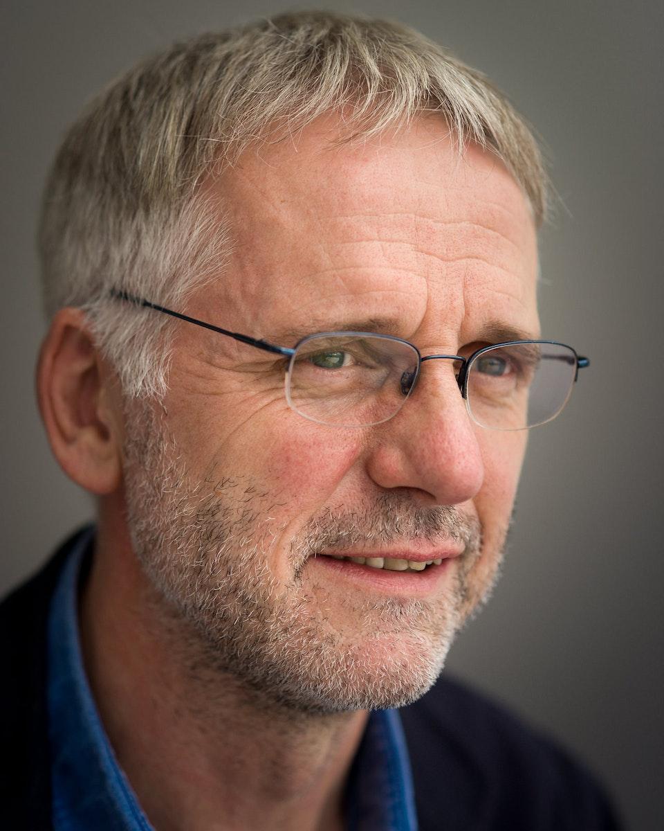 Portraits - Ian Collins, Writer & Curator