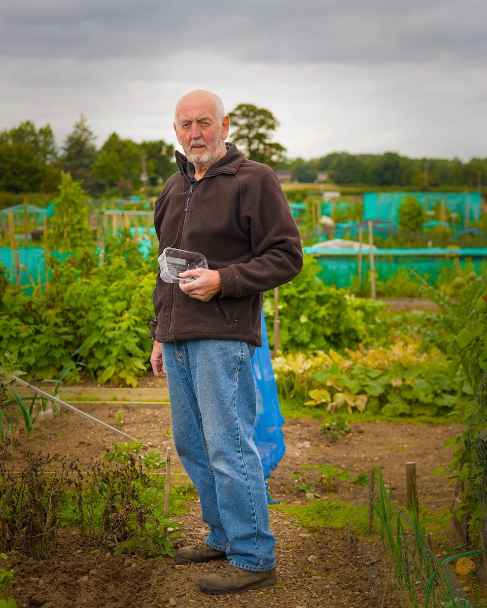 Portraits - Vic Birtles, Retired journalist