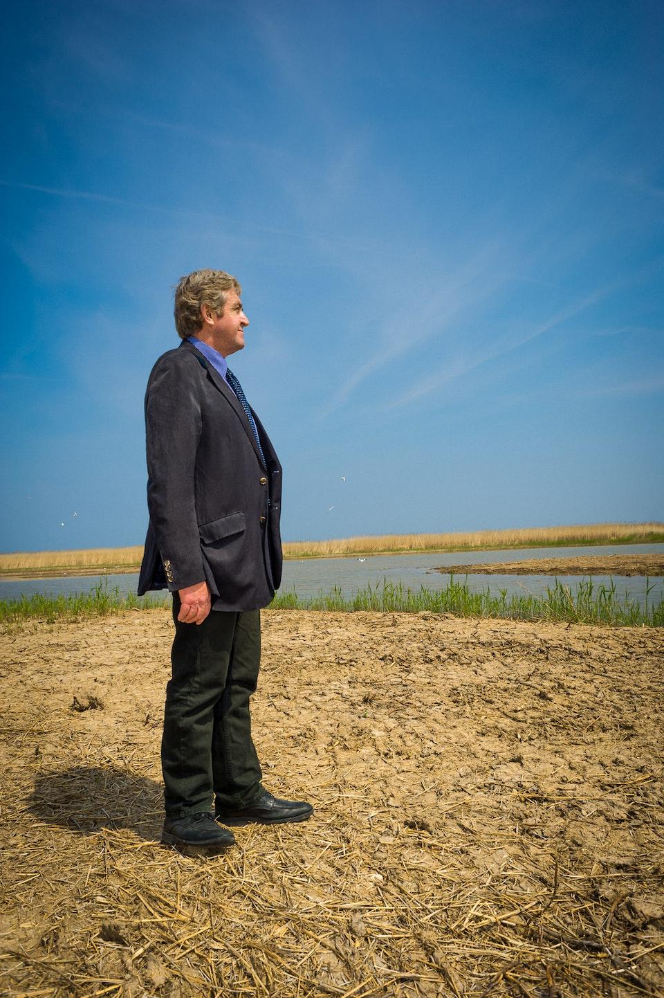 Portraits - Brendan Joyce OBE, Norfolk Wild Life Trust Director