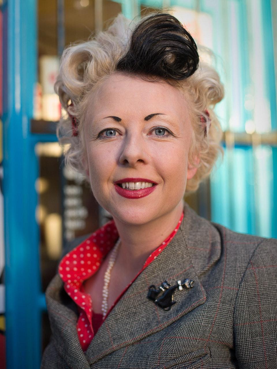 Portraits - Cathi Unsworth, Author