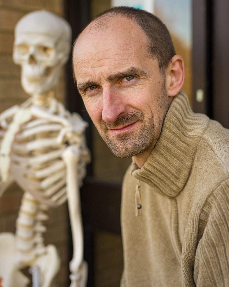 Portraits - DR Phil Smith MBE, Scientist & Teacher
