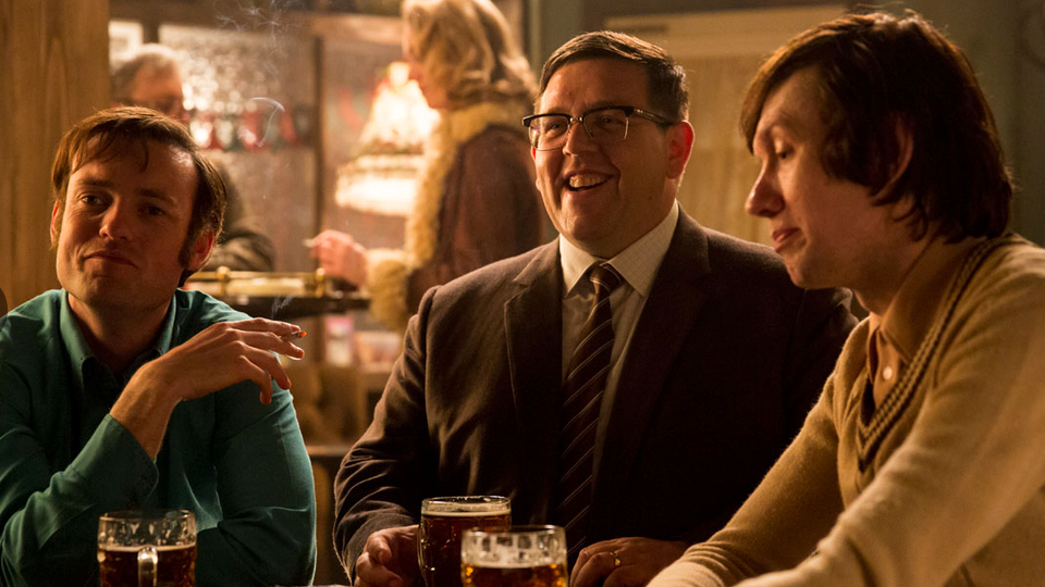 Stills - In the pub with Nick Frost & Lawry Lewin