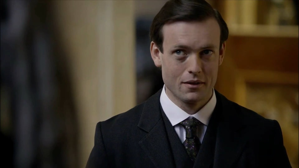 Downton Abbey - Evelyn Comforts Lady Mary (ITV/PBS)