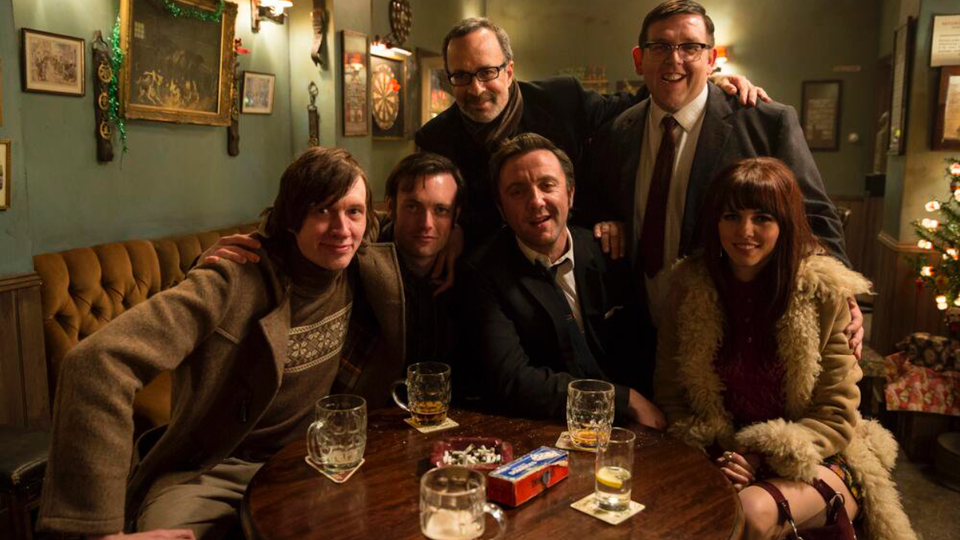 Behind The Scenes - Directed by Robert B. Weide. The gang of Mr Sloane.