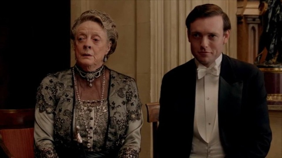 Stills - Evelyn Napier and The Dowager Countess