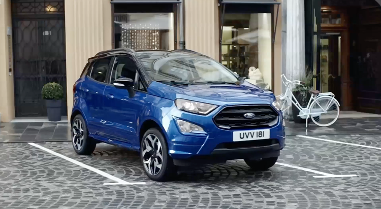 """Ford Ecosport   """"Busy Day"""""""