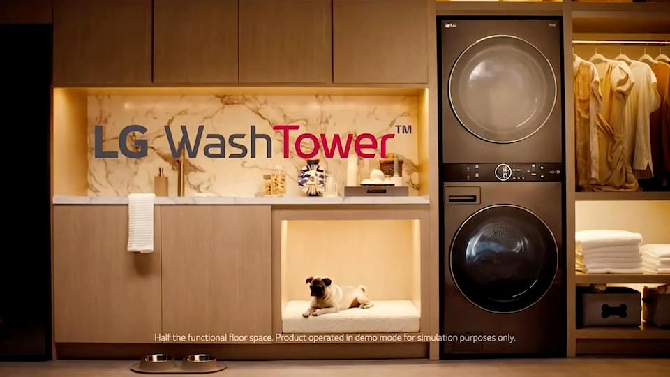 LG WashTower  'Baby, I've got your Laundry'