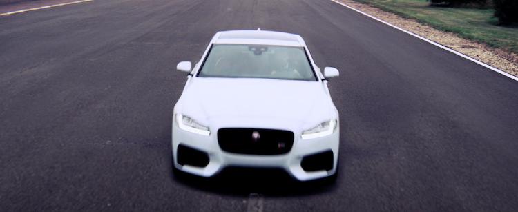 Jaguar XF  'David Beckham'
