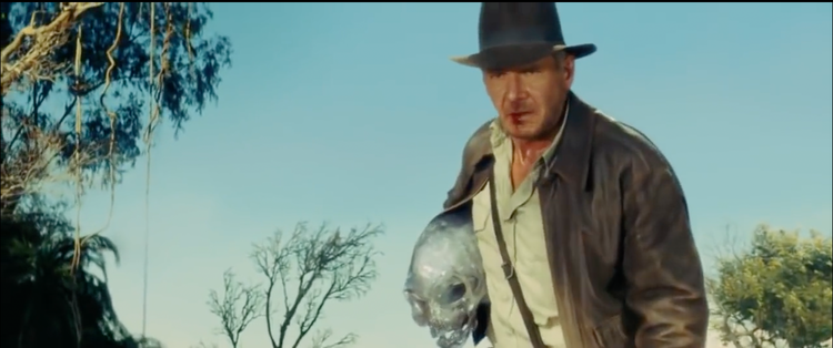 """""""Indiania Jones and the Kingdom of the Crystal Skull"""""""