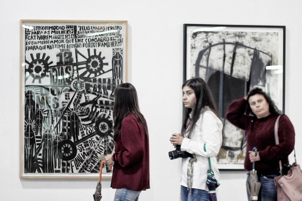 "Oliveira Marco ""Nº3"" na Bienal Internacional de Arte de Gaia"