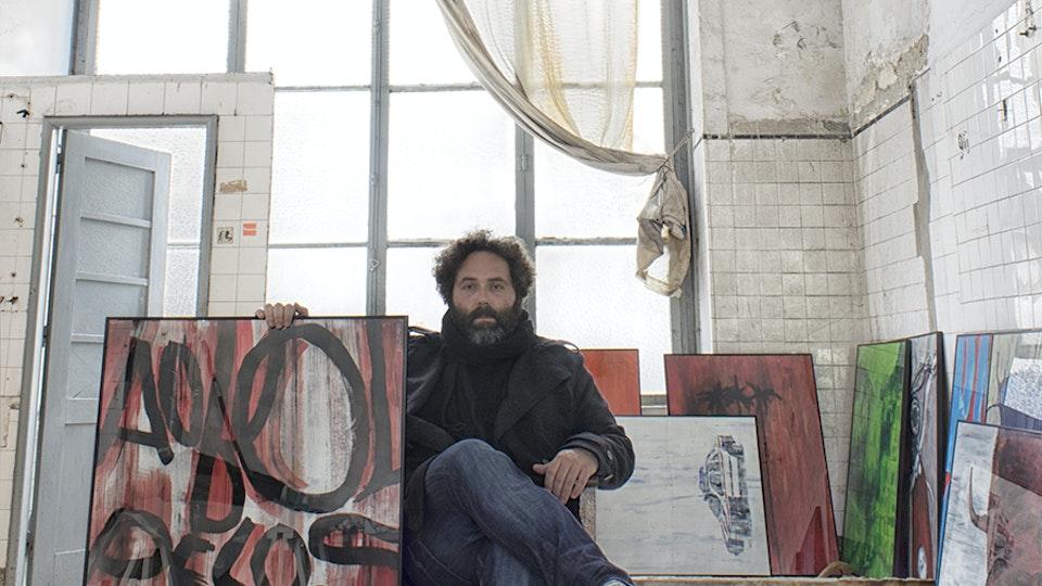 Oliveira Marco 70x100 no Antigo Talho 16 do Mercado do Bolhão