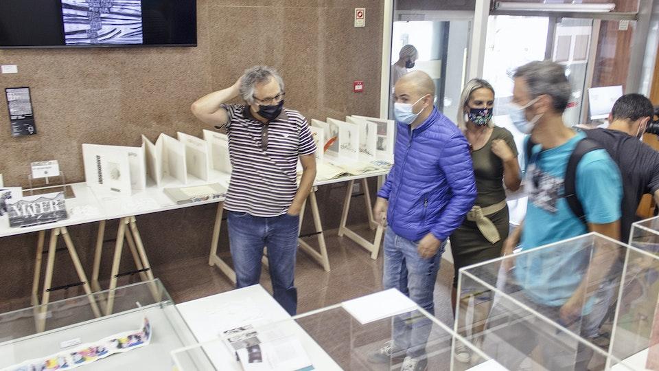 """Oliveira Marco """"8000 Quadros"""" na XXI BIENAL INTERNACIONAL DE ARTE DE CERVEIRA 2020"""