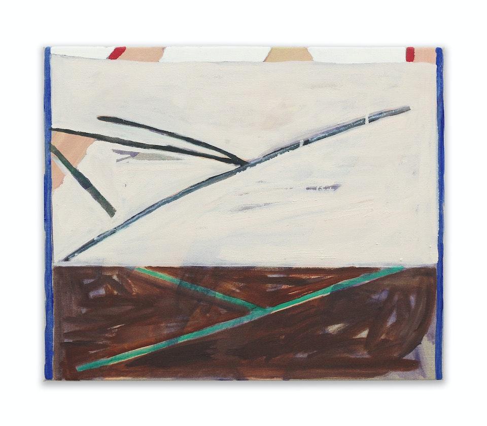 works I - Reconnaissance, 2021, 46x55 cm, acrylic and oil paint on linen