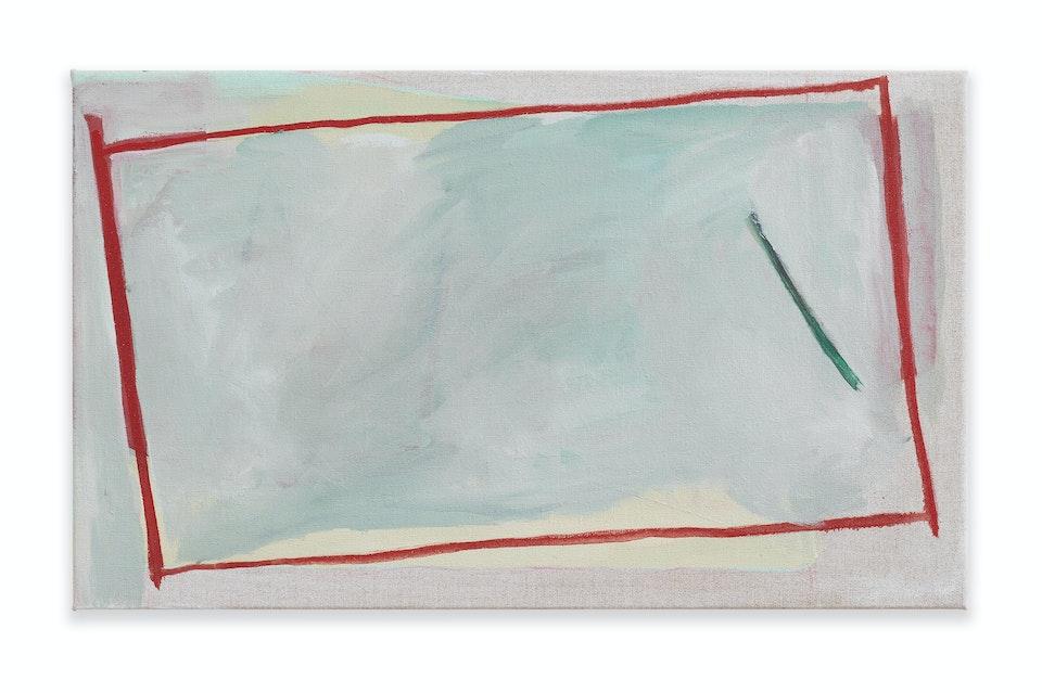 works II - Lesson, 2021, 33x55 cm, oil paint on linen.