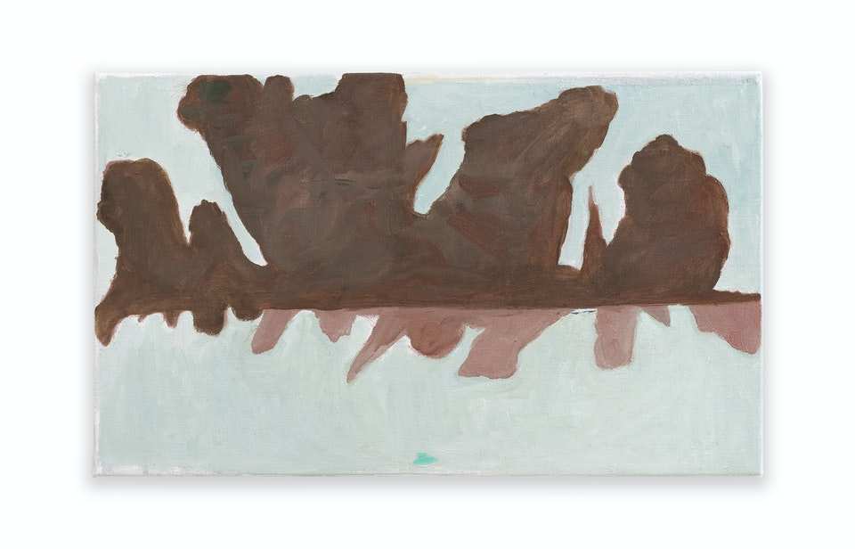 works I - Shadowbeat, 2021, 33x55 cm, oil paint on linen.