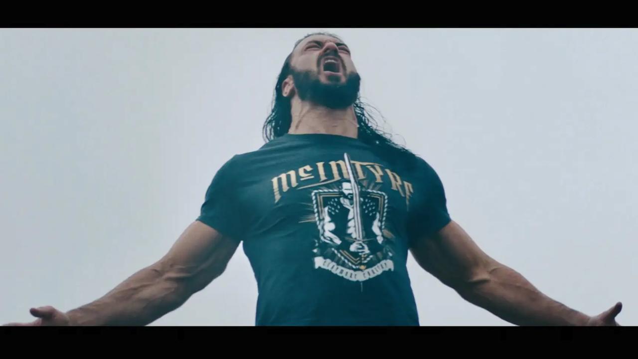 WWE Wrestlemania - Drew McIntyre