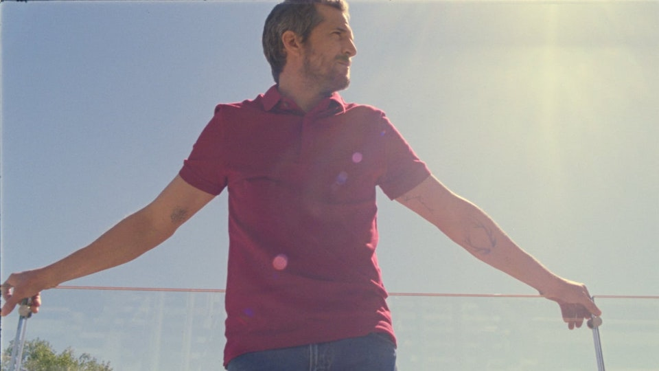 Smash/UP LACOSTE  'GUILLAUME CANET'