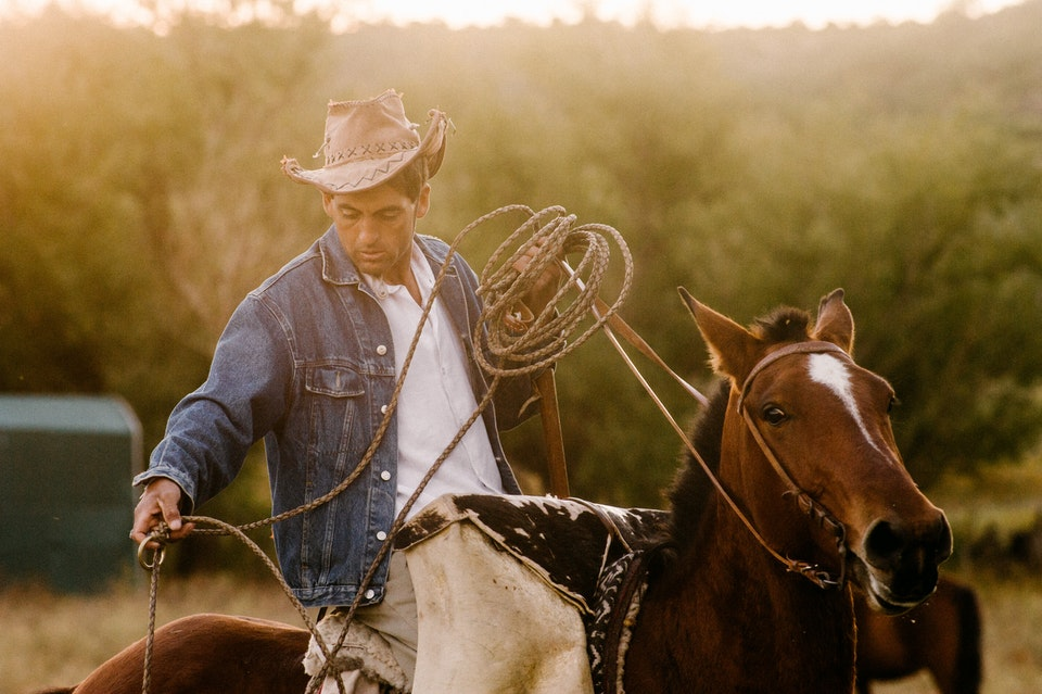 SELECTED WORKS ARGENTINIAN GAUCHO for NATIONAL GEOGRAPHIC