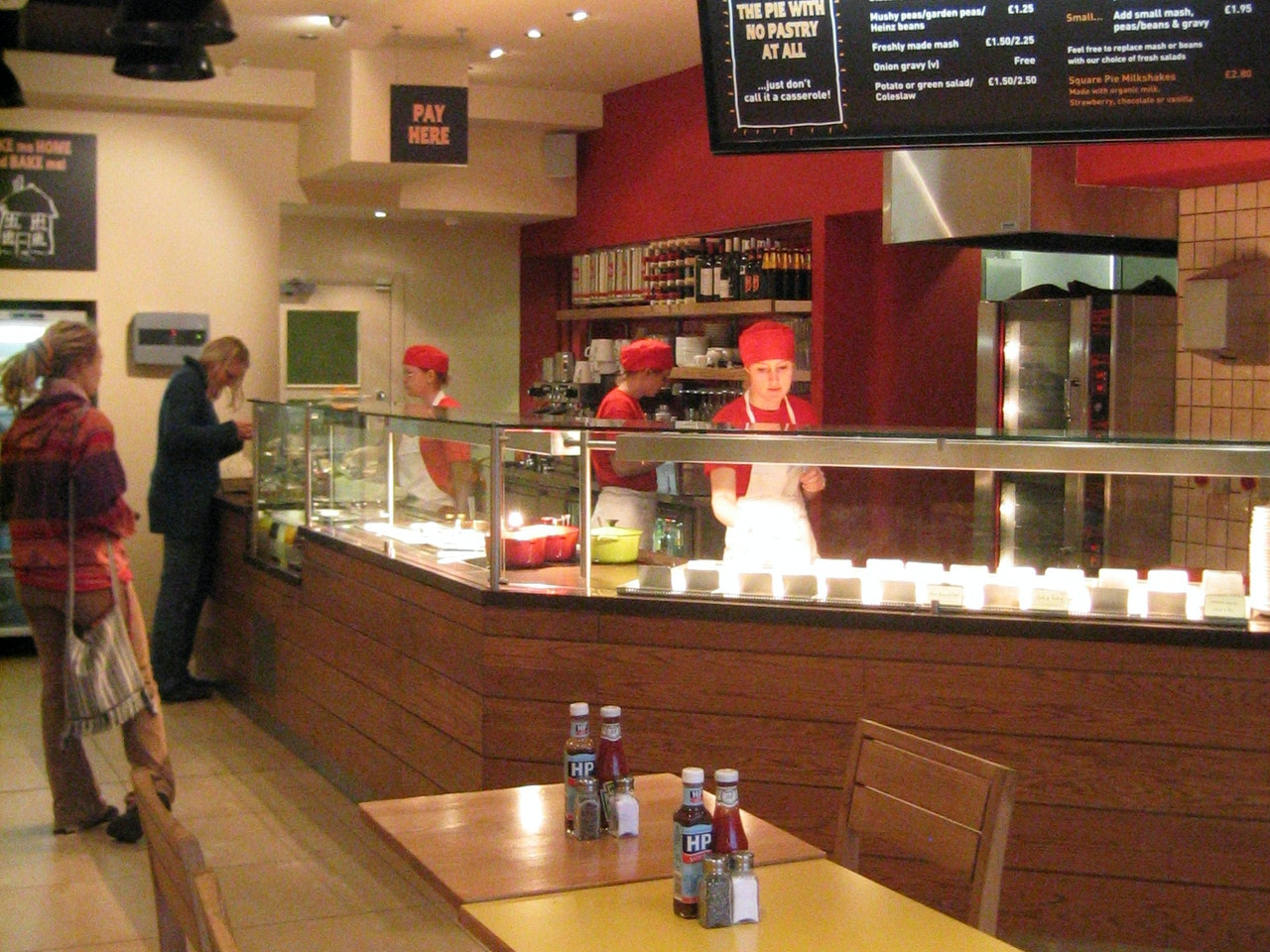 Square Pie, Brunswick Centre