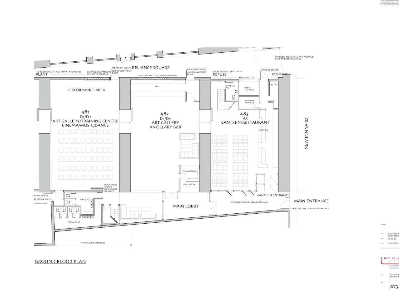 Commercial Event Space, Kingsland Viaduct, Shoreditch
