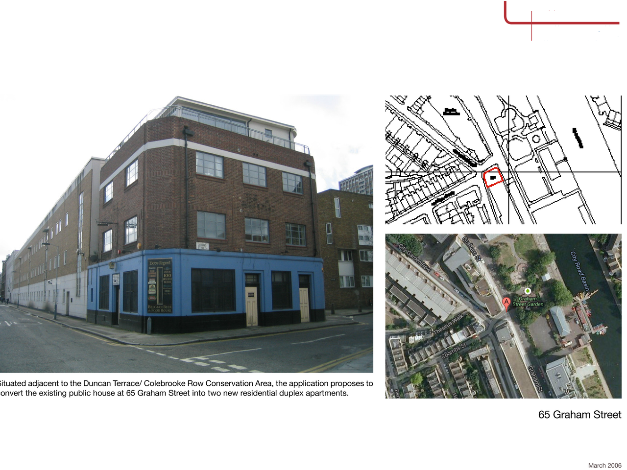 Public House Conversion to Residential, Islington