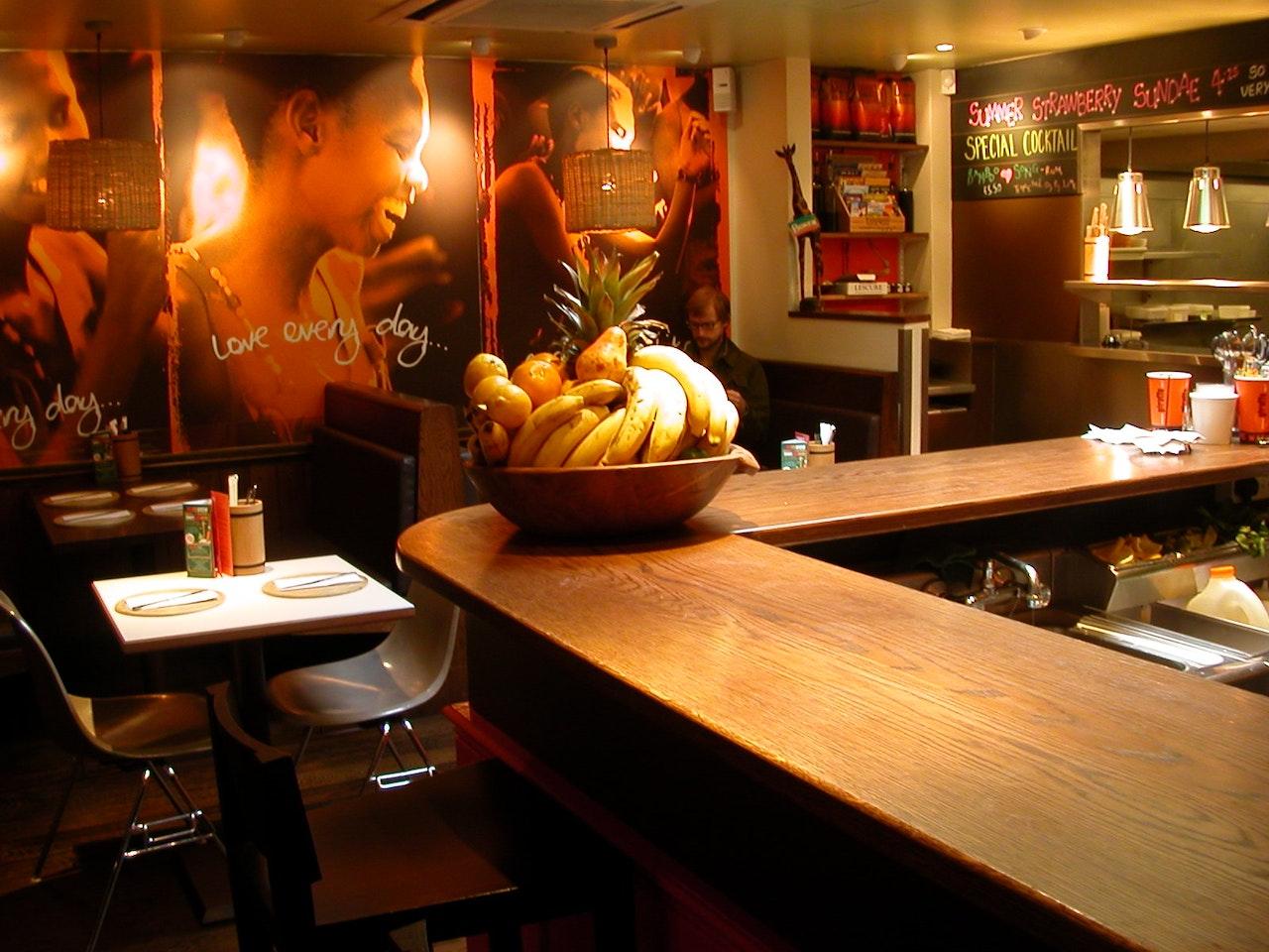 Giraffe Restaurant, WImbledon