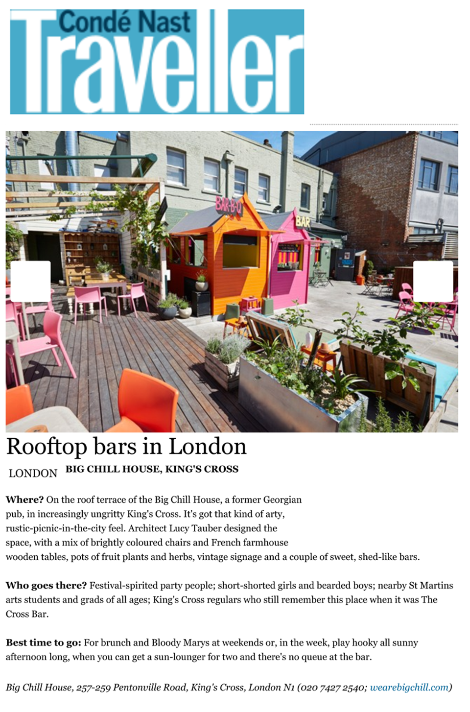 Best Rooftop Bars in London, Photo 4 of 13 (Condé Nast Traveller) 1