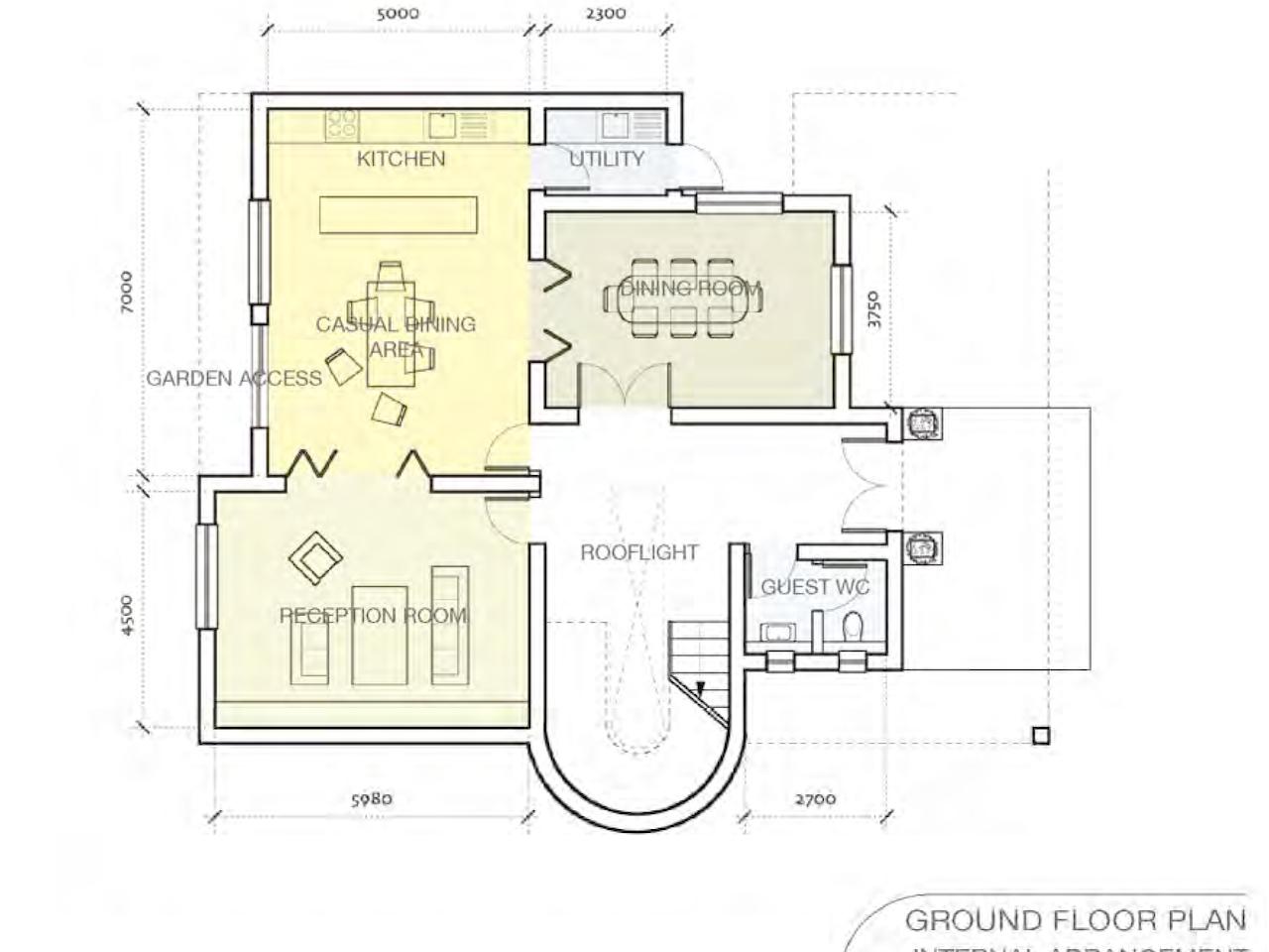 Ground Floor No Landscape