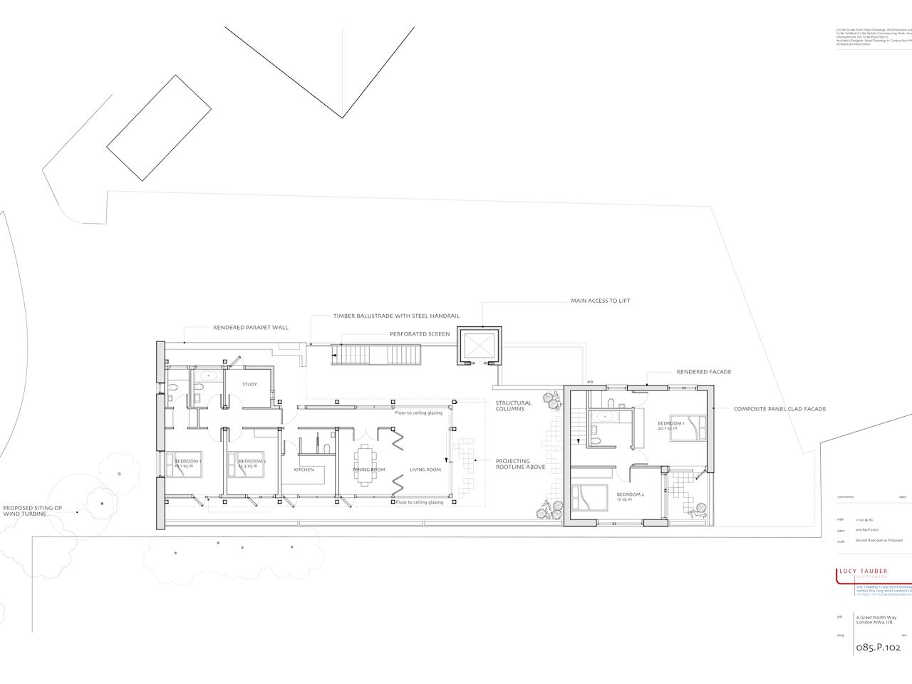 085.p.102 Second Floor Plan