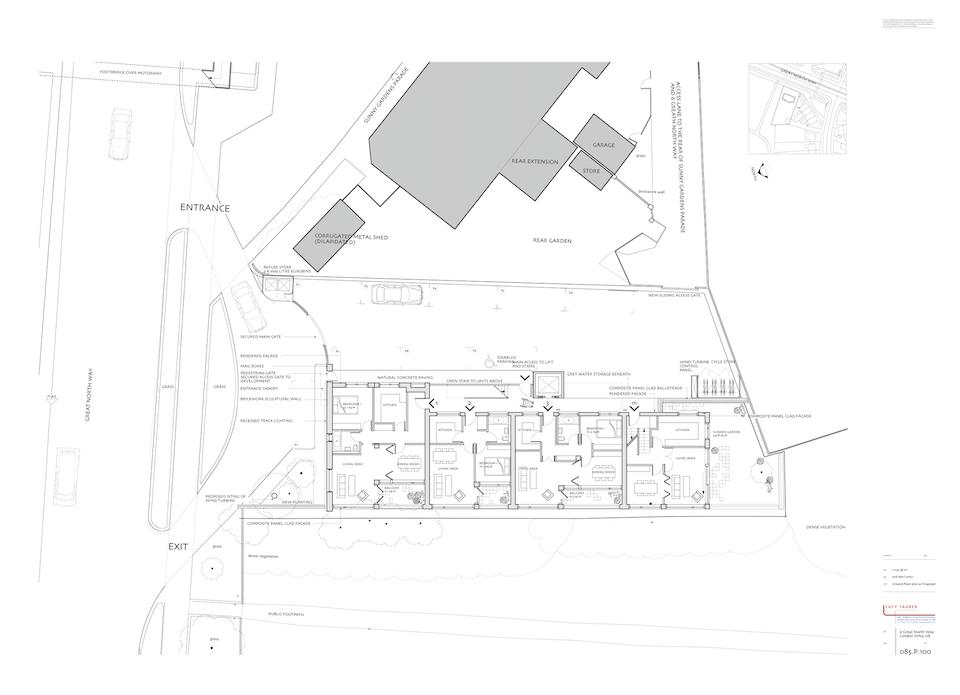 085.p.100 Ground Floor Plan