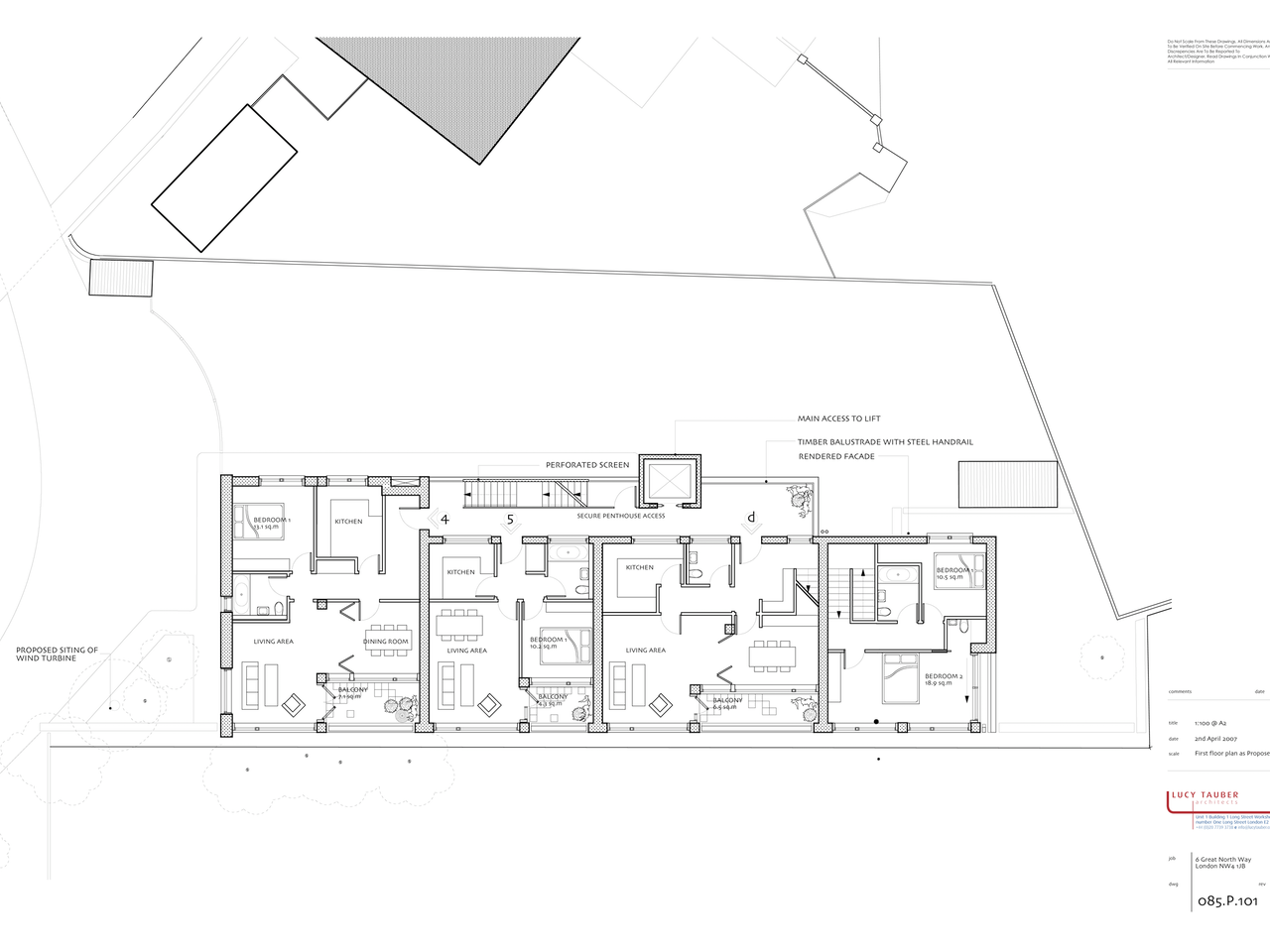 085.p.101 First Floor Plan Copy
