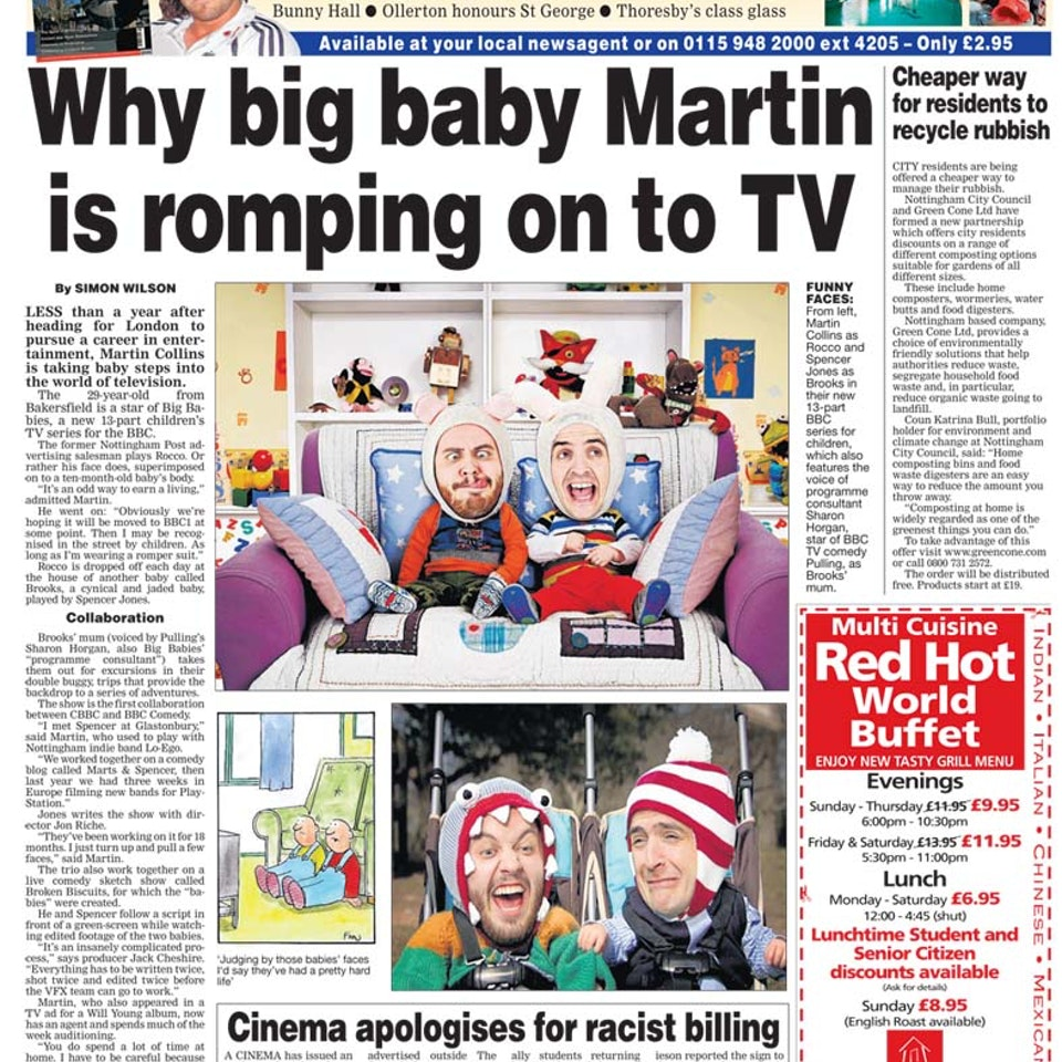 Big Babies - Chaos Medley - BBC1 - Bb