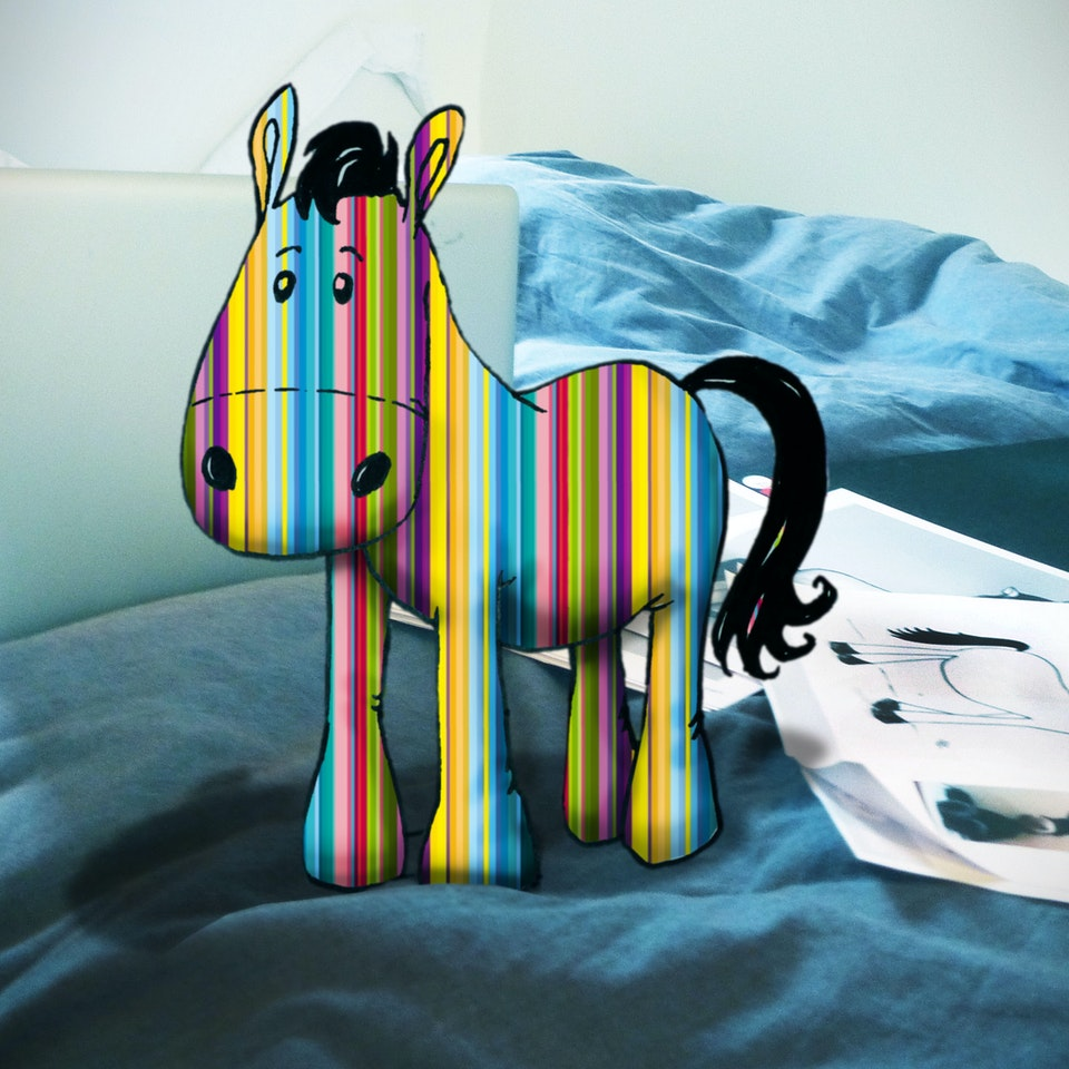 Nectar - Gift Horse - 2 Mock Up on My Bed