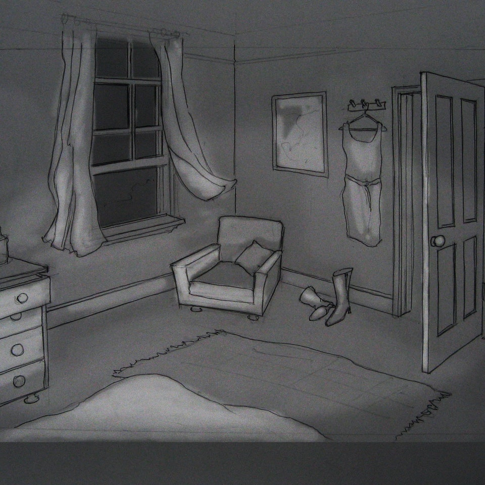 Nectar - Gift Horse - Bedroom Set Sketch 2