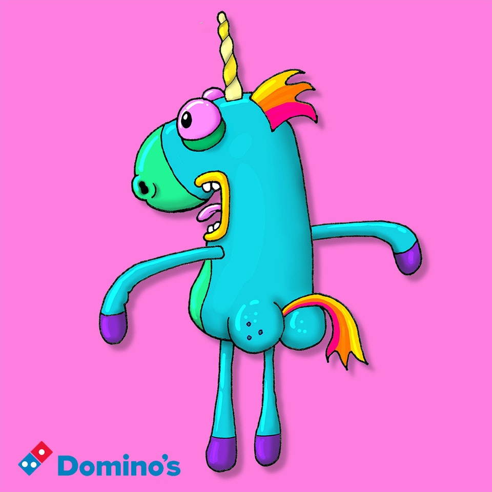 CHARACTER DESIGN - Rear Unicorn for website