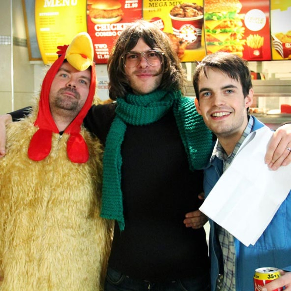 Pat Cahill - Chicken Shop - BBC3 - Rupert Jon and Pat