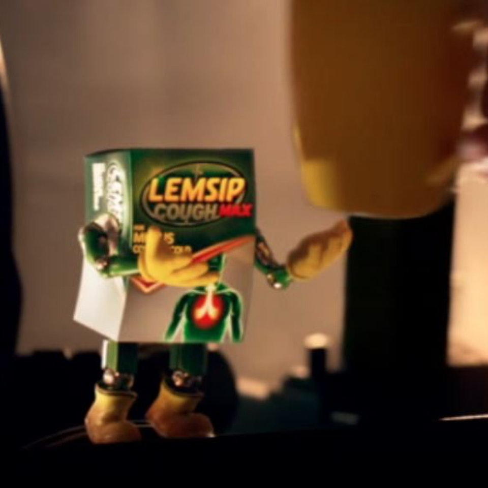 Lemsip Max Strength - Movie Set - Lemmy Gives Cup