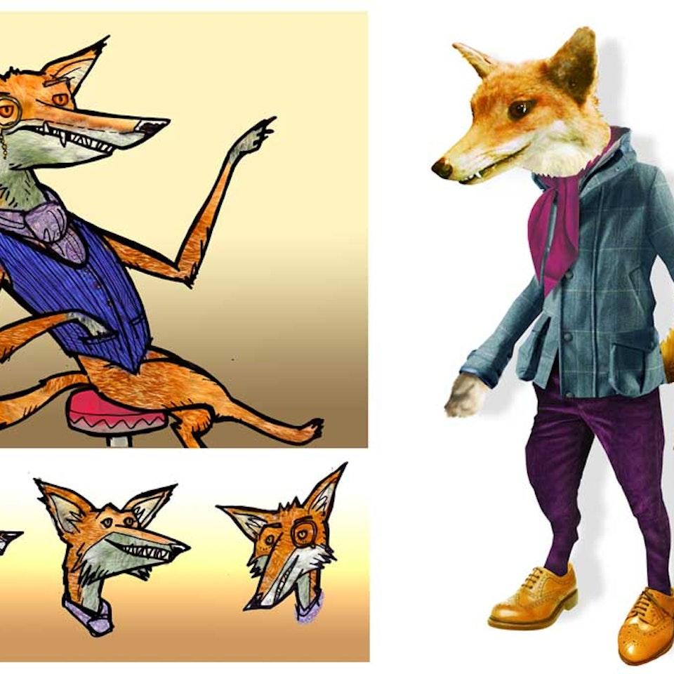 Old Speckled Hen - Idents  - Fox Mockups 03