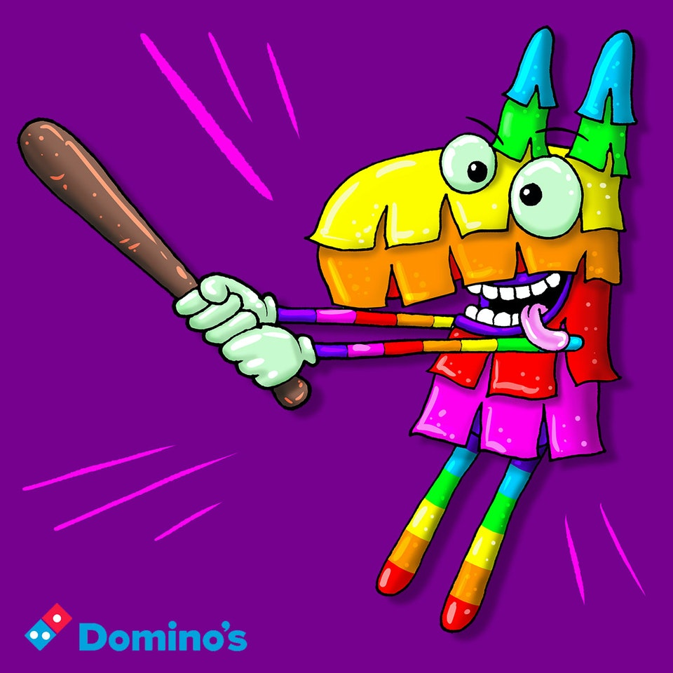 CHARACTER DESIGN - Pinata for website