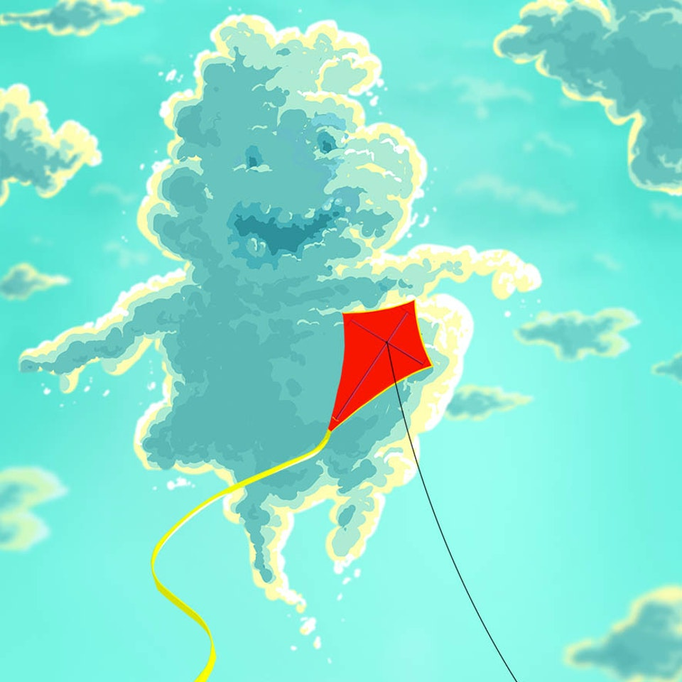 CHARACTER DESIGN - Happy Little Cloud_Webbsite