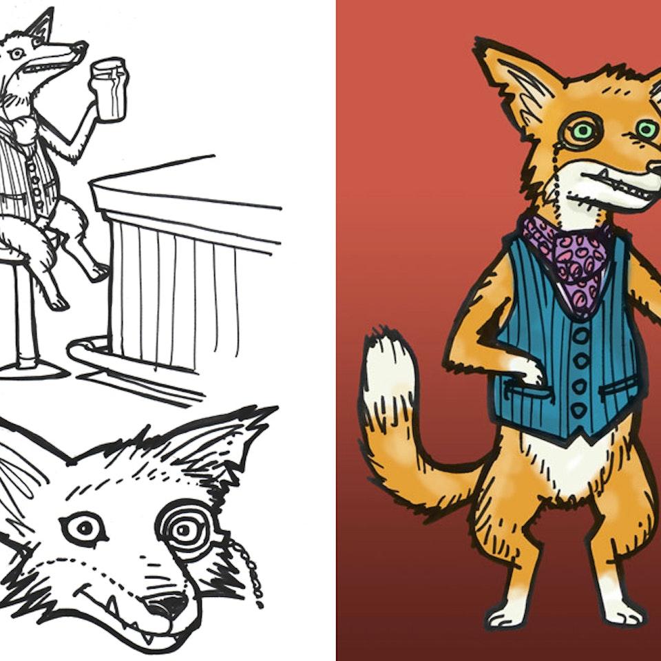 Old Speckled Hen - Idents  - Fox Design for Website