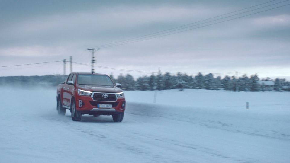 Toyota HiLux | The Arctic Mine -