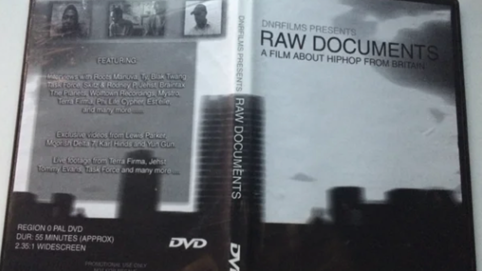 RAW DOCUMENTS A FILM ABOUT HIP HOP